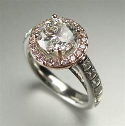 engagement rings tulsa ring redesign before and after pink halo engagement ring by s spexton custom jewelry