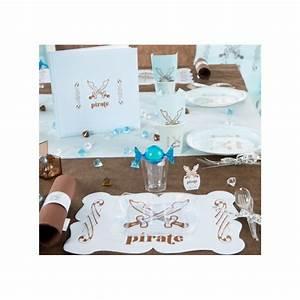 Set De Table Bleu : set de table pirate bleu ciel les 6 ~ Teatrodelosmanantiales.com Idées de Décoration