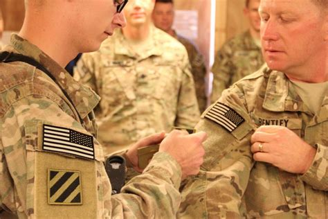 dvids news  time deployers earn id combat patch