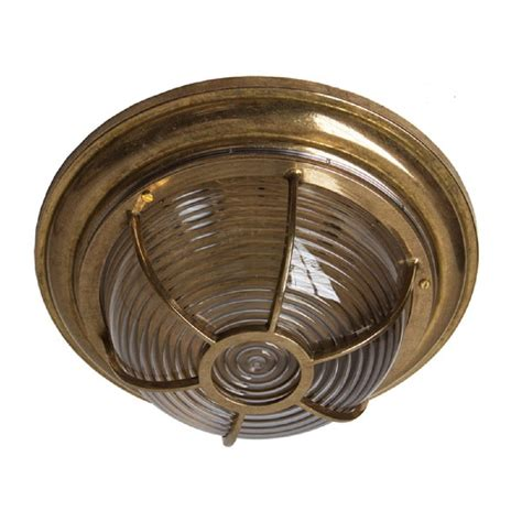 flush fitting circular wall or ceiling light for indoor or