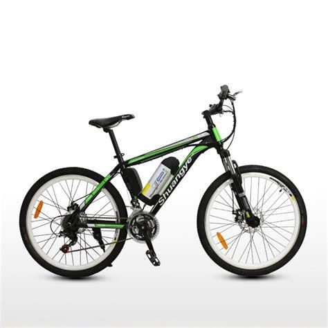 26 Inch 36v Mountain Bike Electric  Shuangye Ebike