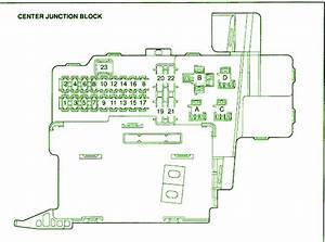 2004 Toyota Celica Gt Central Junction Fuse Box Diagram