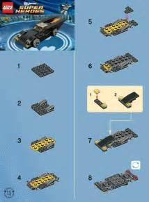LEGO Mini Batmobile Instructions