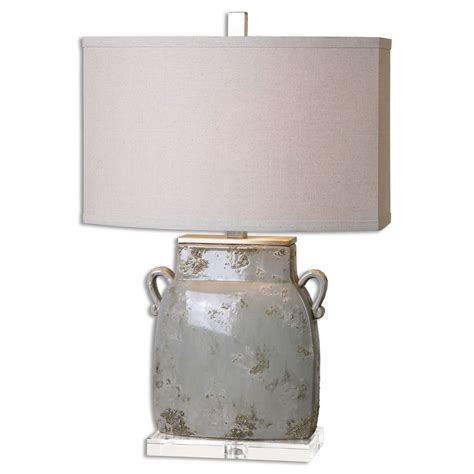 Uttermost Lighting by Uttermost Melizzano Ivory Gray Table L 26613 1
