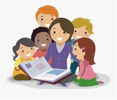Teacher Clipart Teaching Reading Teachers Support Children