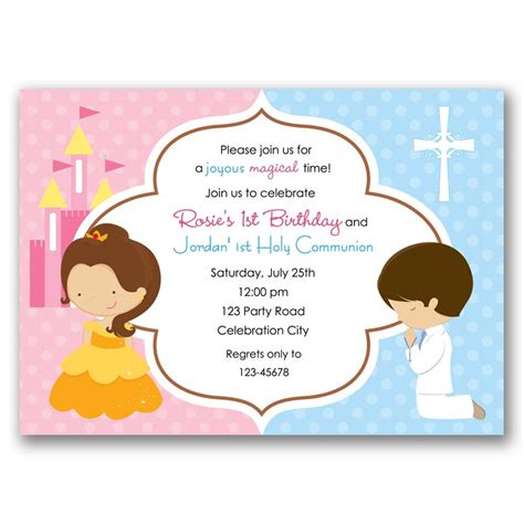 Baptism (Holy Communion) & Princess Belle Birthday