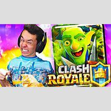 """¡jugando Con La Nueva Carta """"pandilla De Duendes"""" De Clash Royale!  Thegrefg Youtube"""