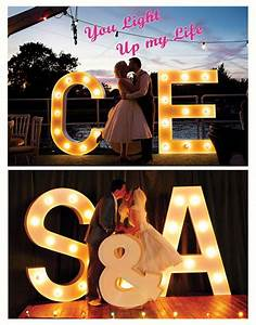 17 best images about light up props on pinterest color With giant light up letters