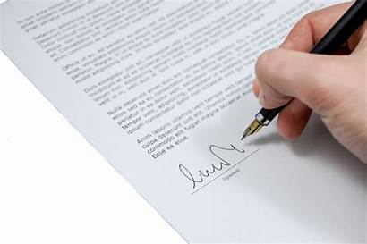 Letter Signing Write Reference