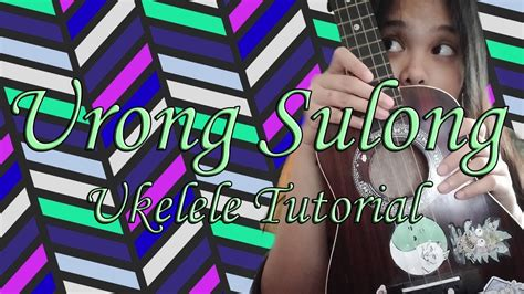 Artist / music producer for bookings, inquiries and work: Urong Sulong by Kiyo,Alisson Shore Ukelele Tutorial - YouTube