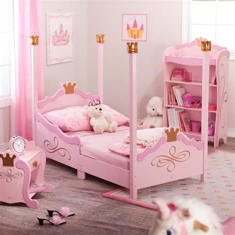 princess bed contemporary toddler bed by kidkraft homesfeed