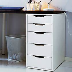 Petit Meuble A Tiroir Ikea : meuble tiroir sous bureau bureau avec rangement imprimante ~ Dode.kayakingforconservation.com Idées de Décoration