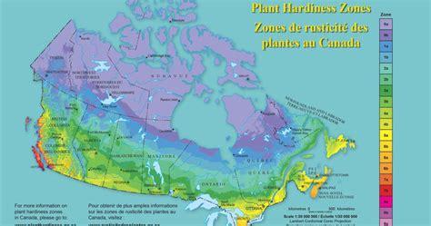 canadian plant hardiness map florissa flowers plants