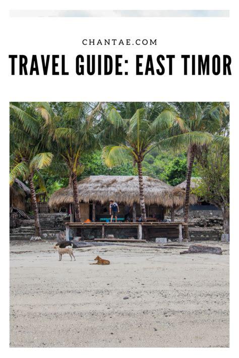 Adventuring Around East Timor Timor Leste Travel Guide