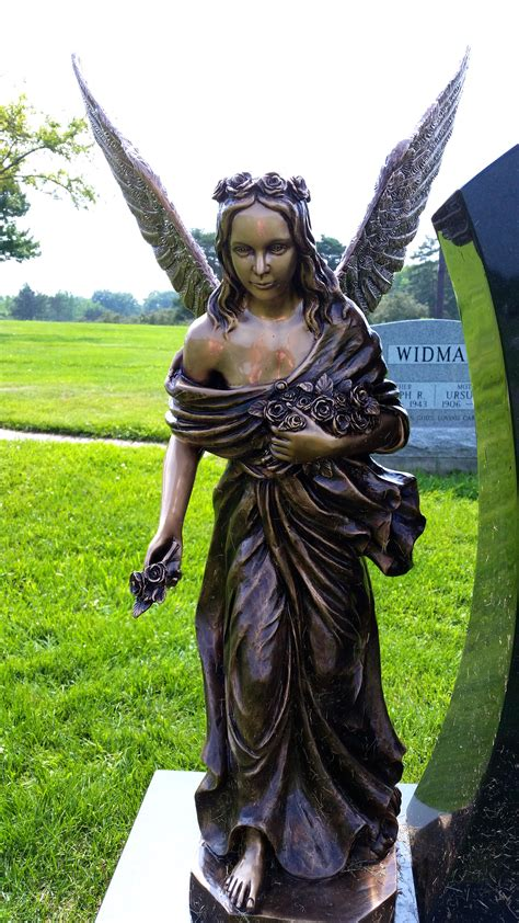 Loved One Offers $10K Reward for Return Of Angel Statue ...
