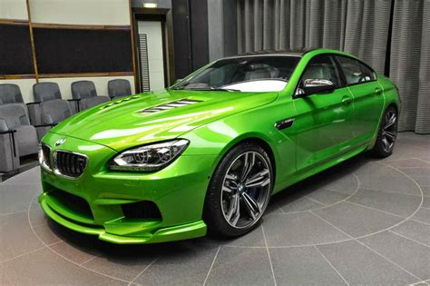 Bmw M6 Gran Coupe Modification by Modified Bmw M6 Gran Coupe With Java Green Paintjob