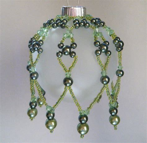 items similar to beaded christmas ornament cover christmas