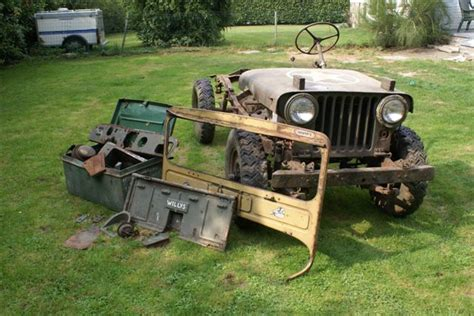 m38a 224 restaurer ou pour pi 232 ces - Pieces Jeep Willys