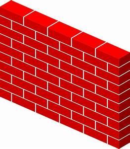 Cartoon brick wall clipart best