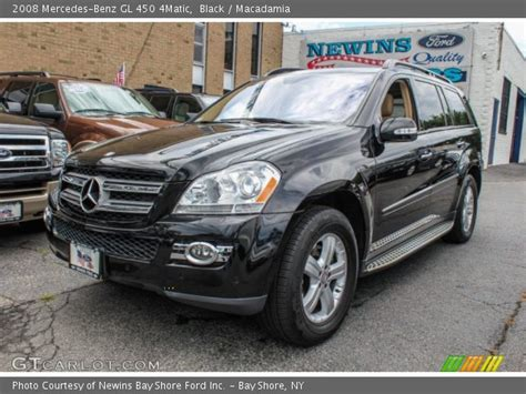 The gl450 and gl320 cdi are equipped identically, save for their powertrains. Black - 2008 Mercedes-Benz GL 450 4Matic - Macadamia ...