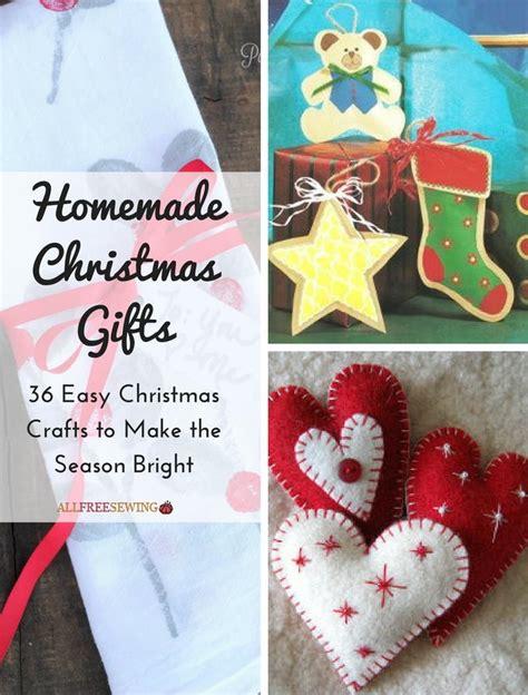 homemade christmas gifts  easy christmas crafts