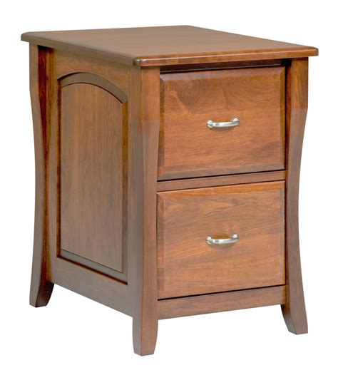 Amish File Cabinet Solid Wood Wooden Vertical Office Home