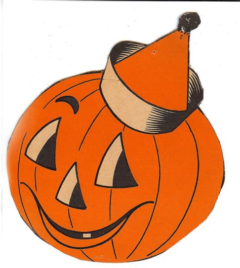 Free Printable Vintage Halloween Clip Art Festival