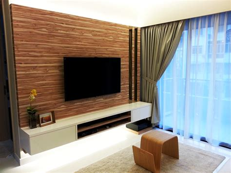 Modern Living Room With Tv by Project D Castilia Colourbox Interior