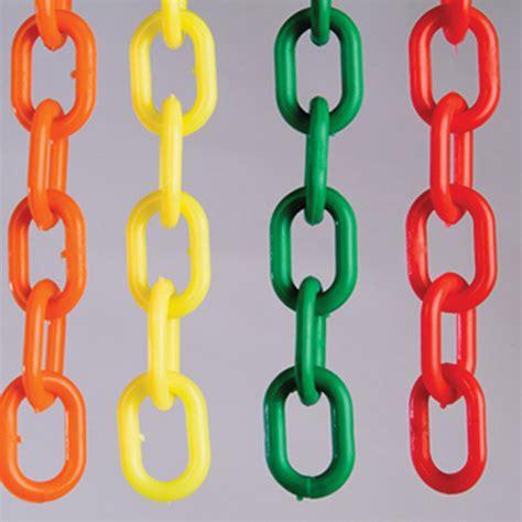 metal pail 1 quot plastic chain link light duty plastic chain