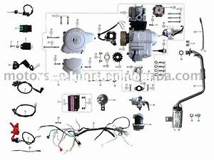 Coolster 110cc Atv Parts Furthermore Pit Bike Engine