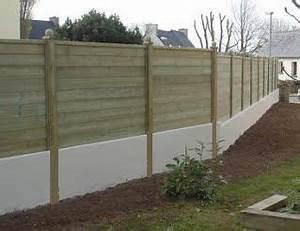 palissade bois sur muret recherche google jardin With decoration jardin avec pierres 3 clatures de jardin en 59 idees captivantes