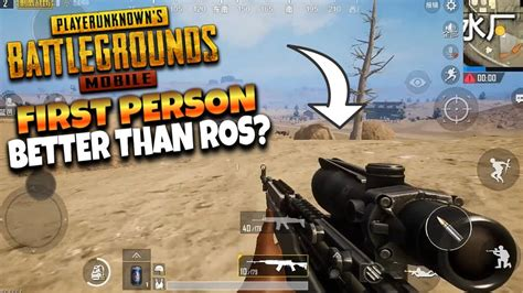 pubg mobile  person mode gameplay youtube