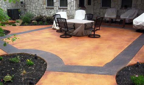 concrete patios concreteideas