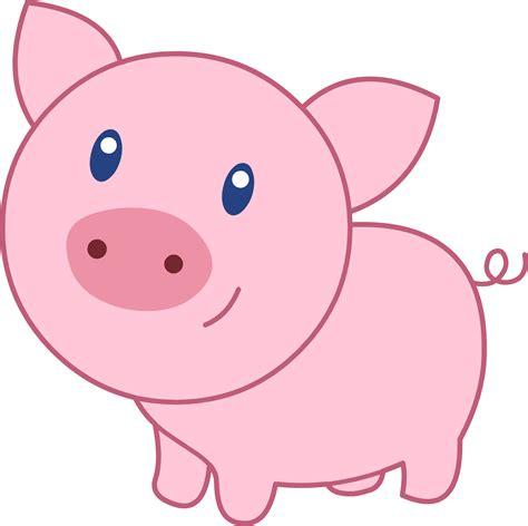 childrens piggy pink pig free clip