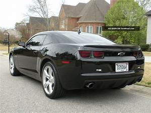 2012 Chevrolet Camaro Ss Coupe 1ss 6 Speed Manual Trans