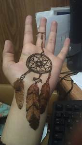 Dreamcatcher henna tattoo. | Henna tattoos | Pinterest ...