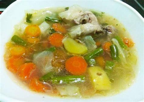 Segera saja angkat sayur sop yang sudah matang tersebut & sajikan selagi masih hangat. Resep Untuk Membuat Sayur Sop : Resep Masakan Resep Membuat Sayur Sop / Sop buntut adalah salah ...