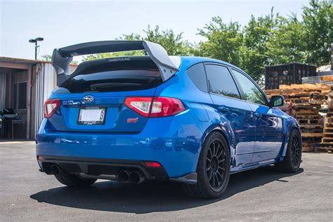 subaru wrx hatch new carbon fiber rally wing for subaru wrx sti hatchback