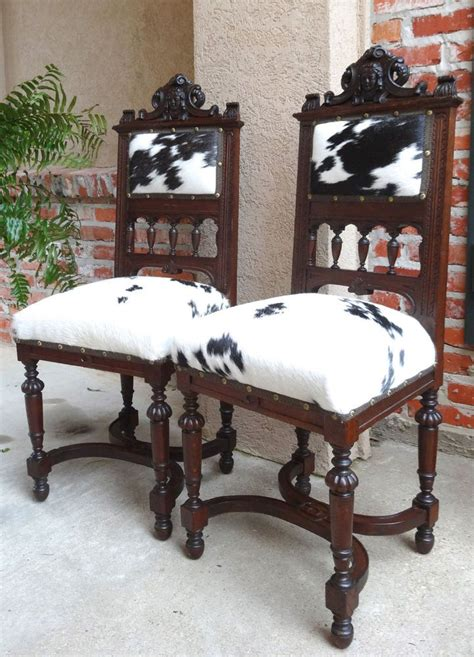 Cowhide Dining Room Chairs by Cowhide Dining Chairs And Stylish Choice Of Dining