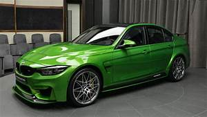 it or love it BMW M3 in Java Green with M Performance Body Kit