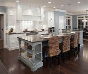 traditional kitchen island formal white kitchen with blue island mullet cabinet traditional kitchen cleveland by