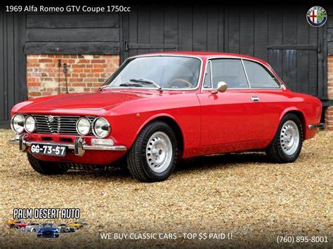 1969 Alfa Romeo Gtv by 1969 Alfa Romeo Gtv 1750 For Sale Classiccars Cc