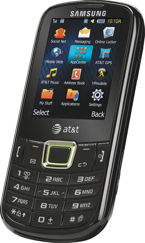 at t phones samsung evergreen a667 phone at t cell