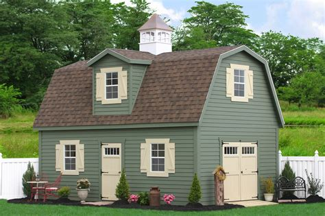 prefab  story shed designs barns  garage projects
