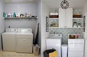 6 laundry room reveals to inspire your next makeover for Suggested ideas for laundry room design