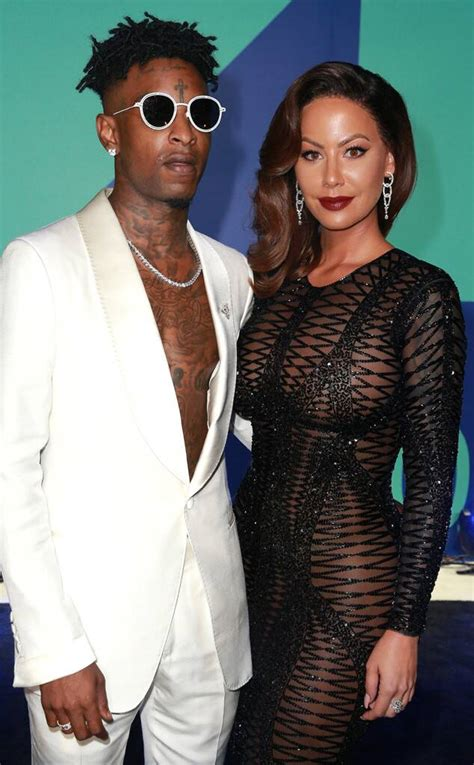 Amber Rose Reacts to 21 Savage Split Rumors: I Can't Say