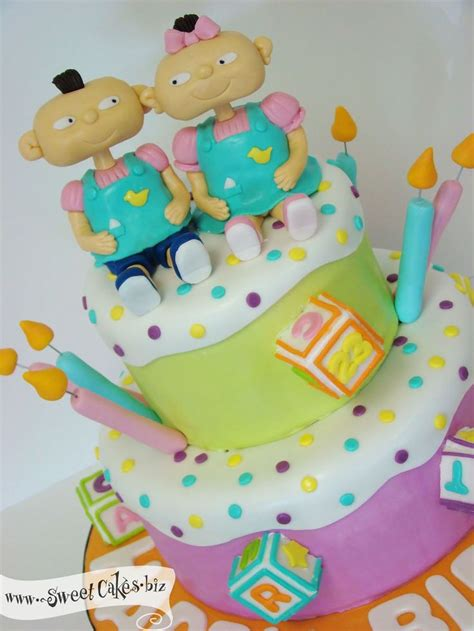 rugrats cake google search cakes  babies baby