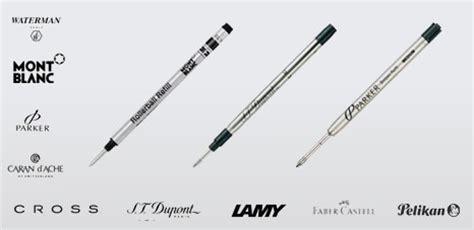 recharge pour stylo mont blanc stylo en image
