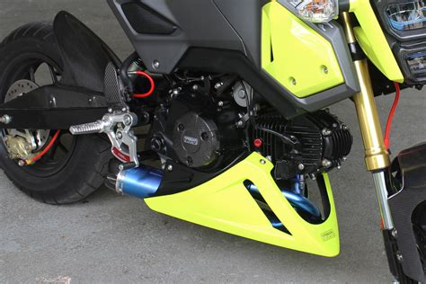 Under Cowl, Belly Exhaust Type, (grp