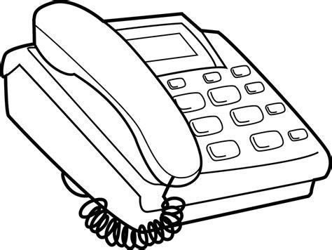 telephone clipart black and white telephone clipart black and white pencil and in color